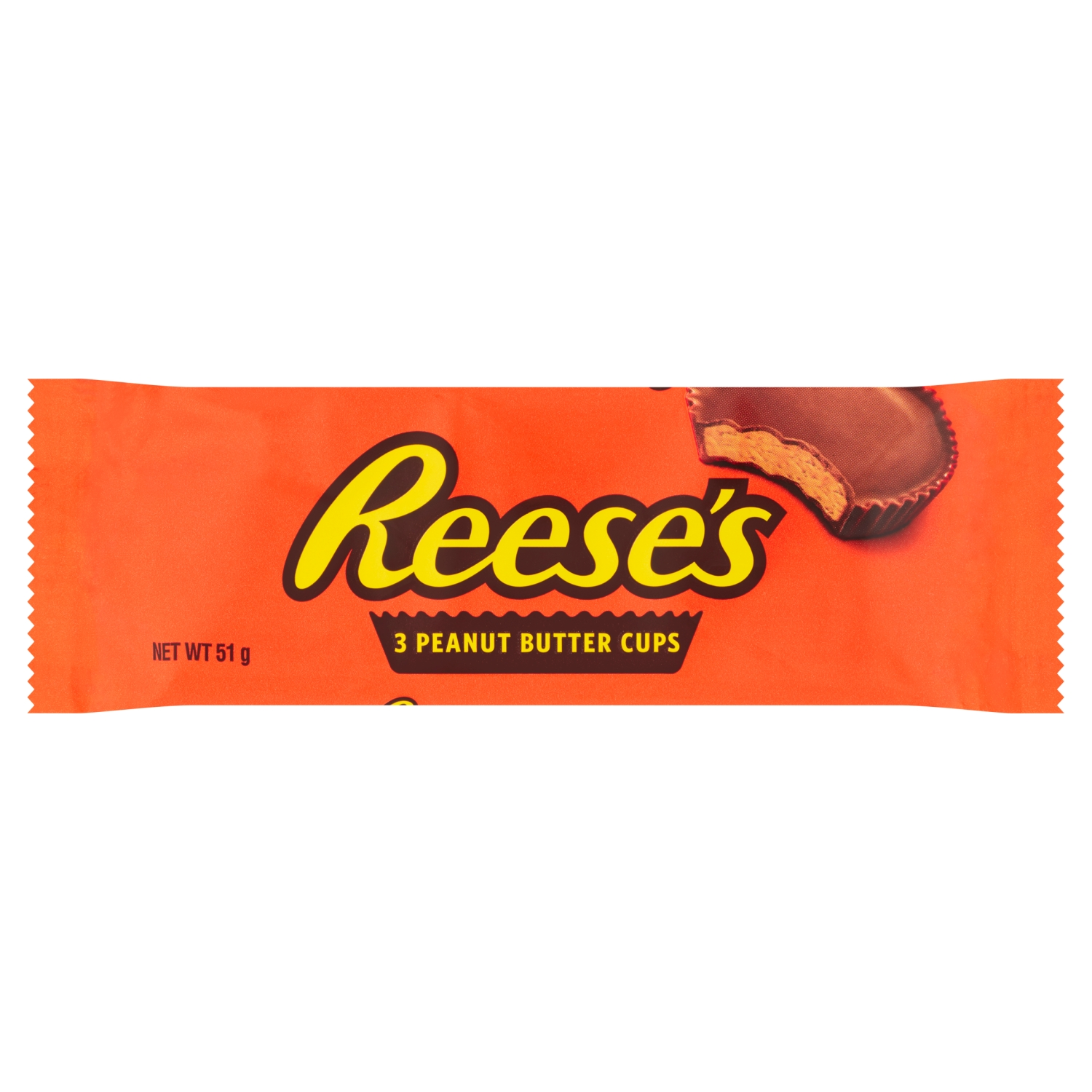 Reese's Peanut Butter Cups 3 Pack 51g