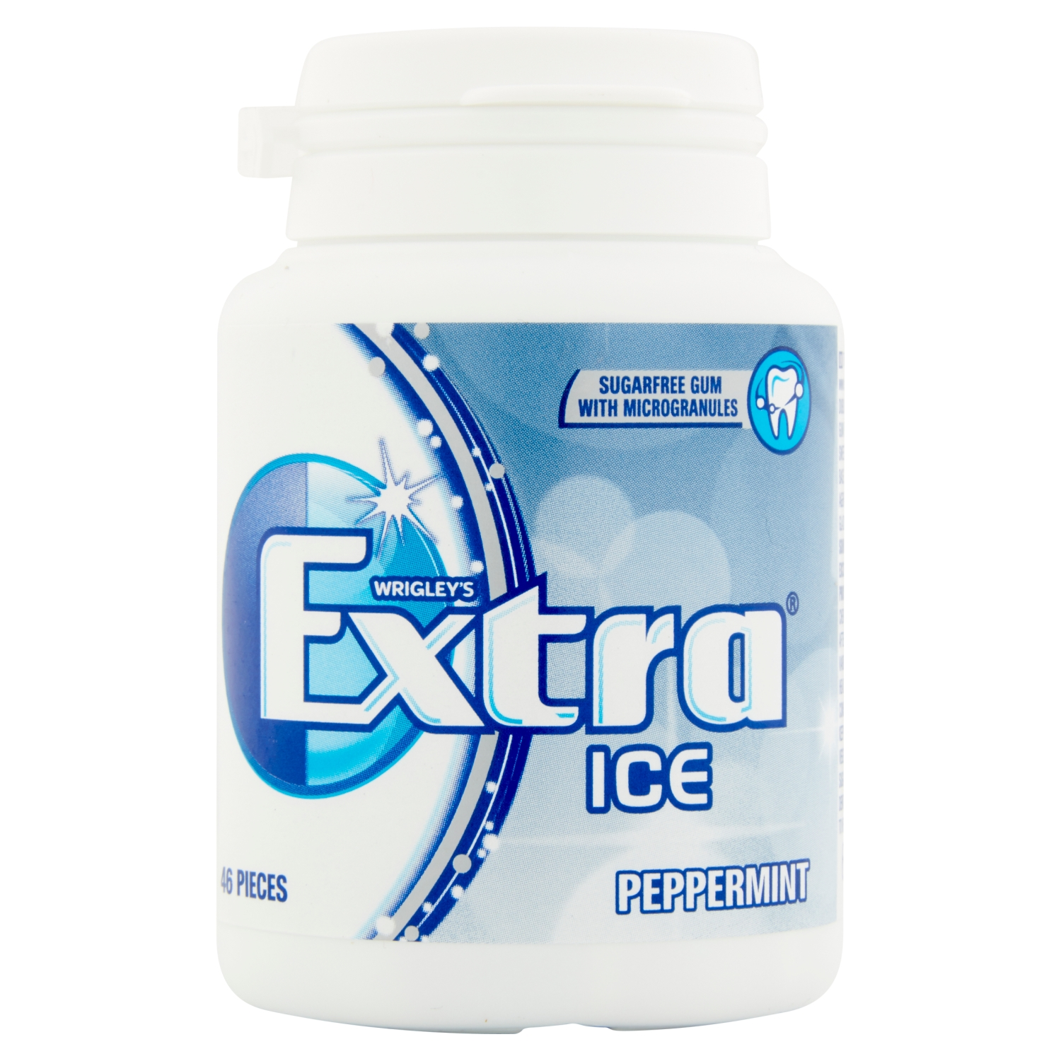 Wrigley's Extra Ice Peppermint 46 Pieces 64g