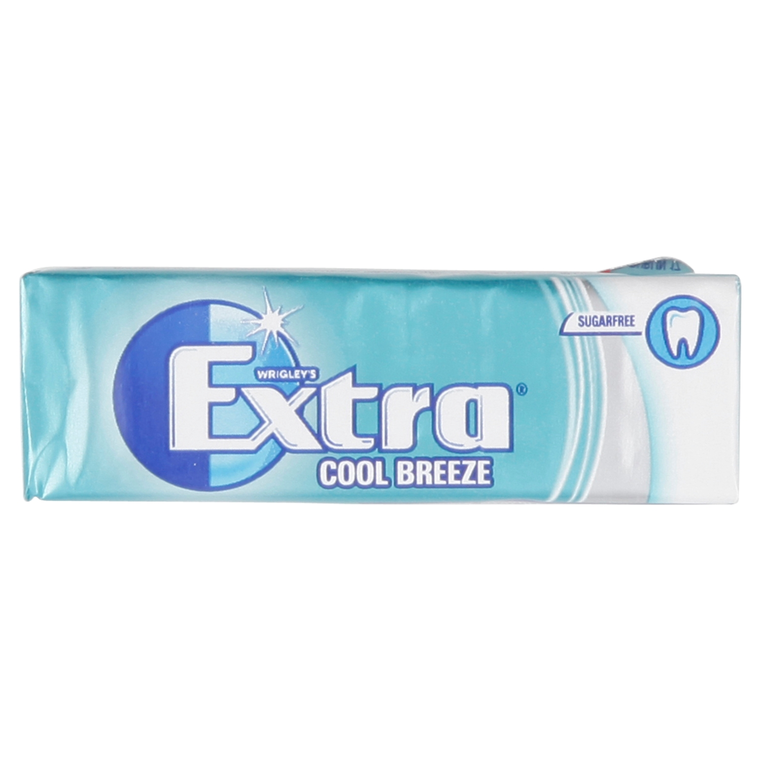 Wrigley's Extra Cool Breeze Sugarfree Chewing Gum 10 Pieces 14g
