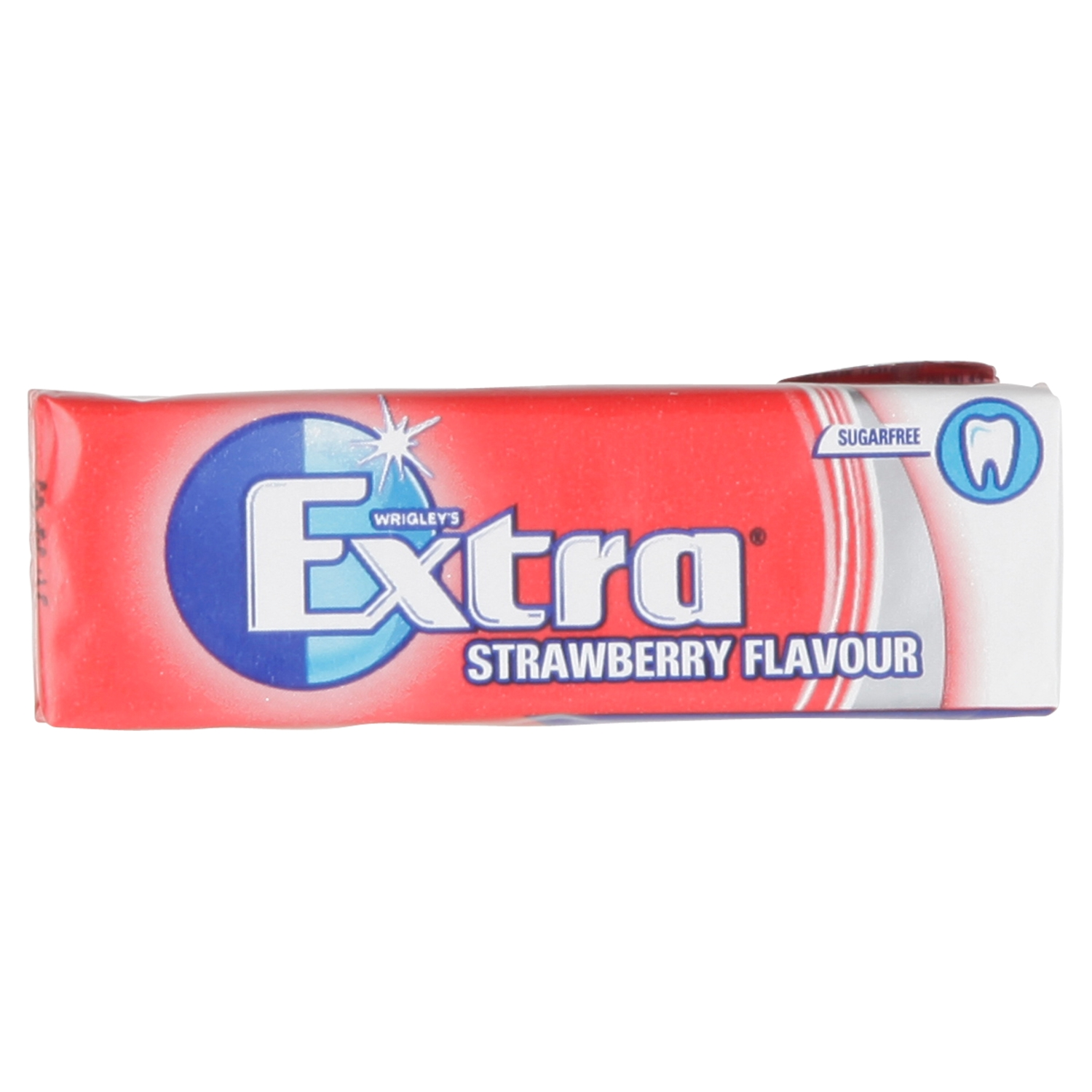 Wrigley's Extra Strawberry Flavour Sugarfree Chewing Gum 10 Pieces 14g