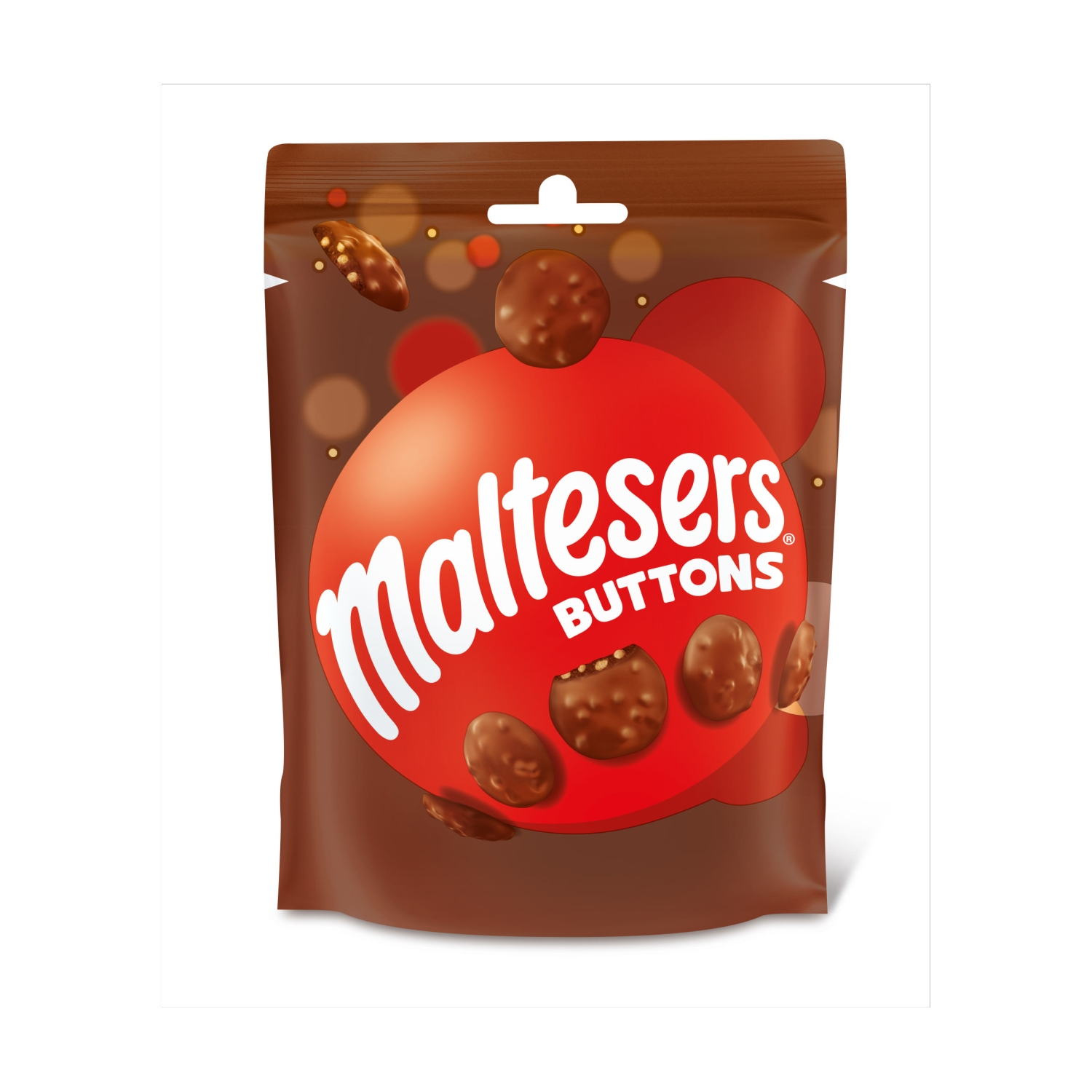 Maltesers Buttons Chocolate Pouch Bag 102g