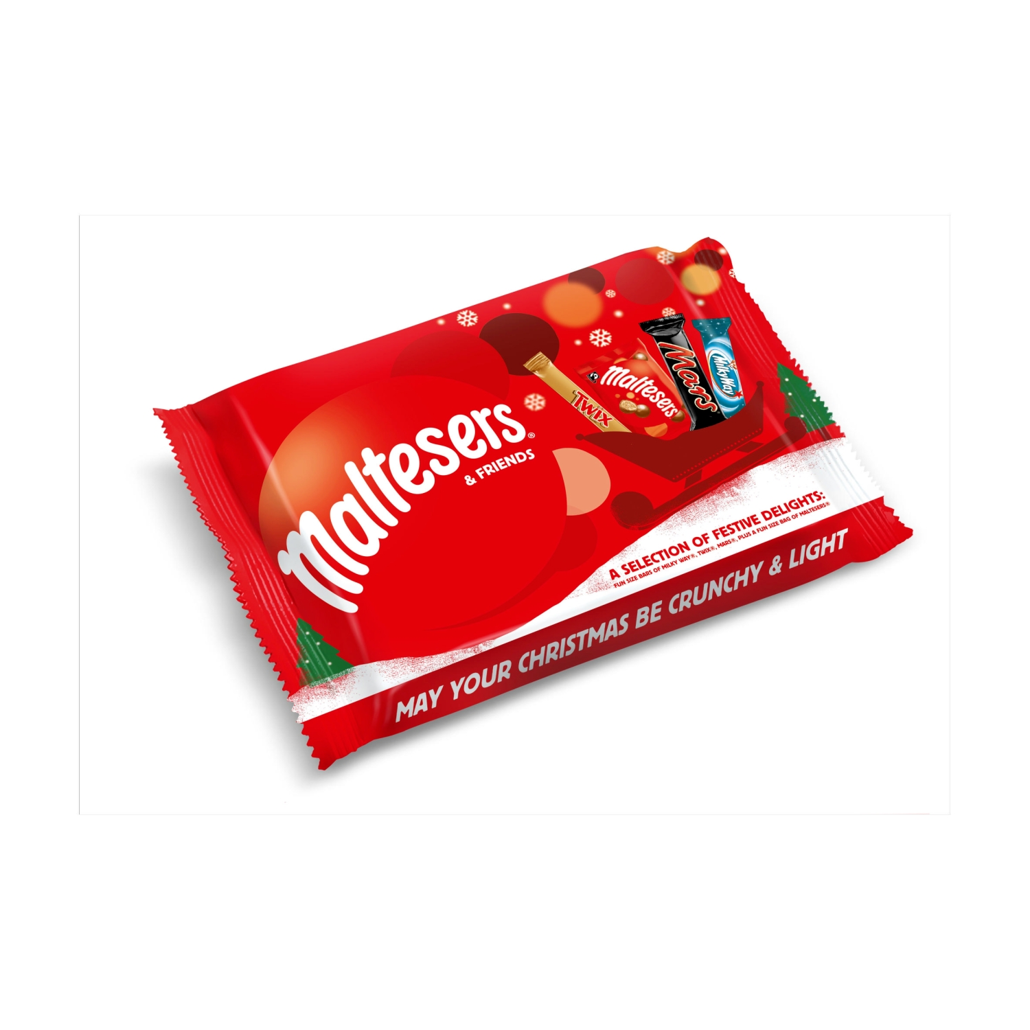 Maltesers & Friends Small Christmas Chocolate Selection Pack 73g