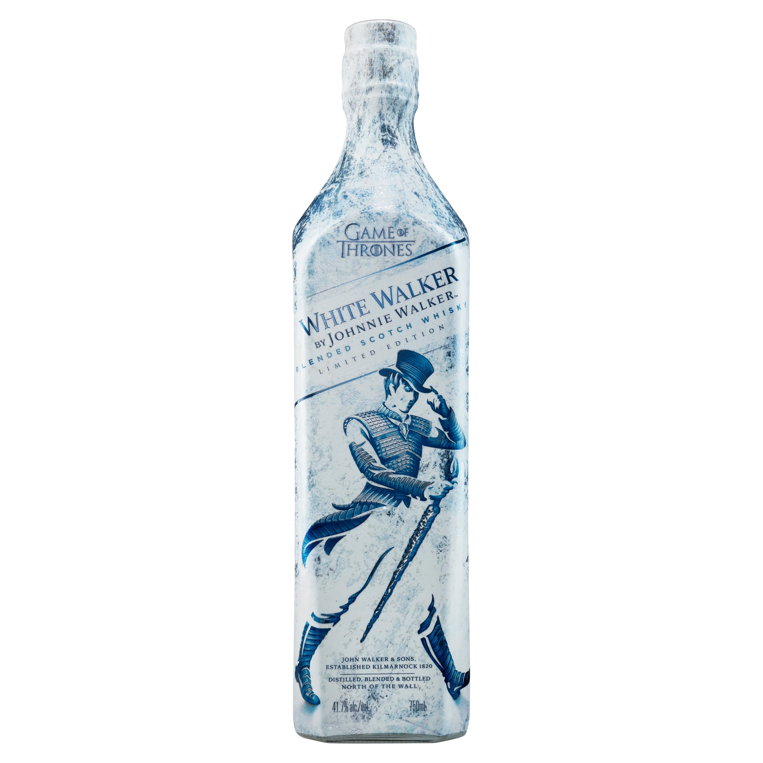 Johnnie Walker White Walker Blended Scotch Whisky 70cl Game of Thrones Limited Edition