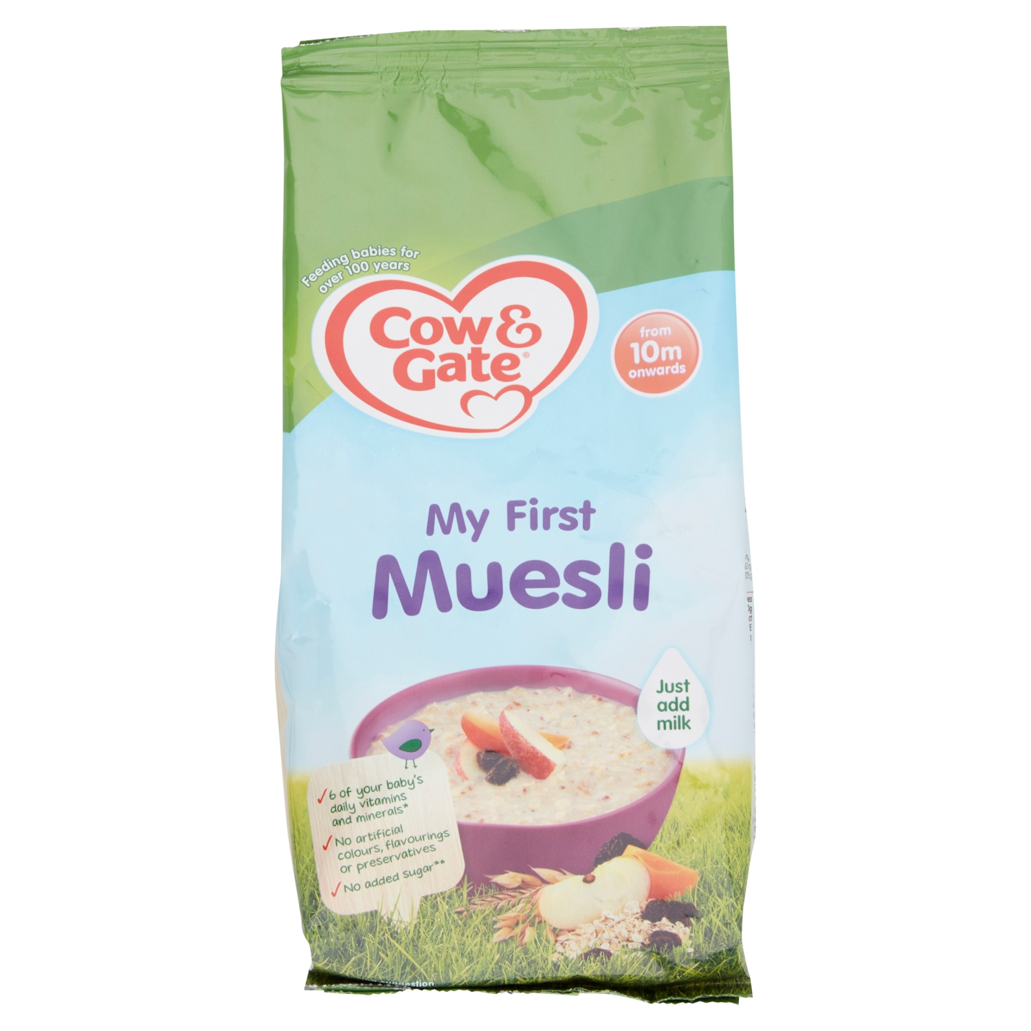 Cow & Gate My First Muesli from 10m Onwards 330g