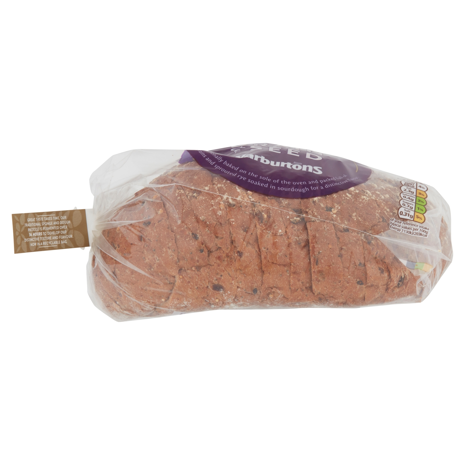 Warburtons Speciality Multi Grain and Seed Bread 400g