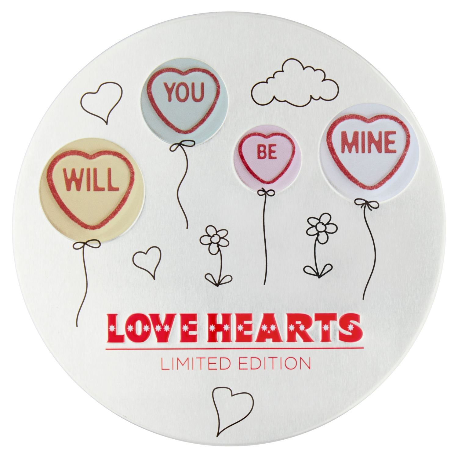 Swizzels Limited Edition Love Hearts