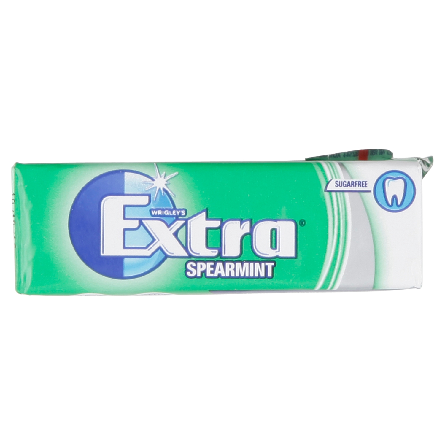 Wrigley's Extra Spearmint Sugarfree Chewing Gum 10 Pieces 14g
