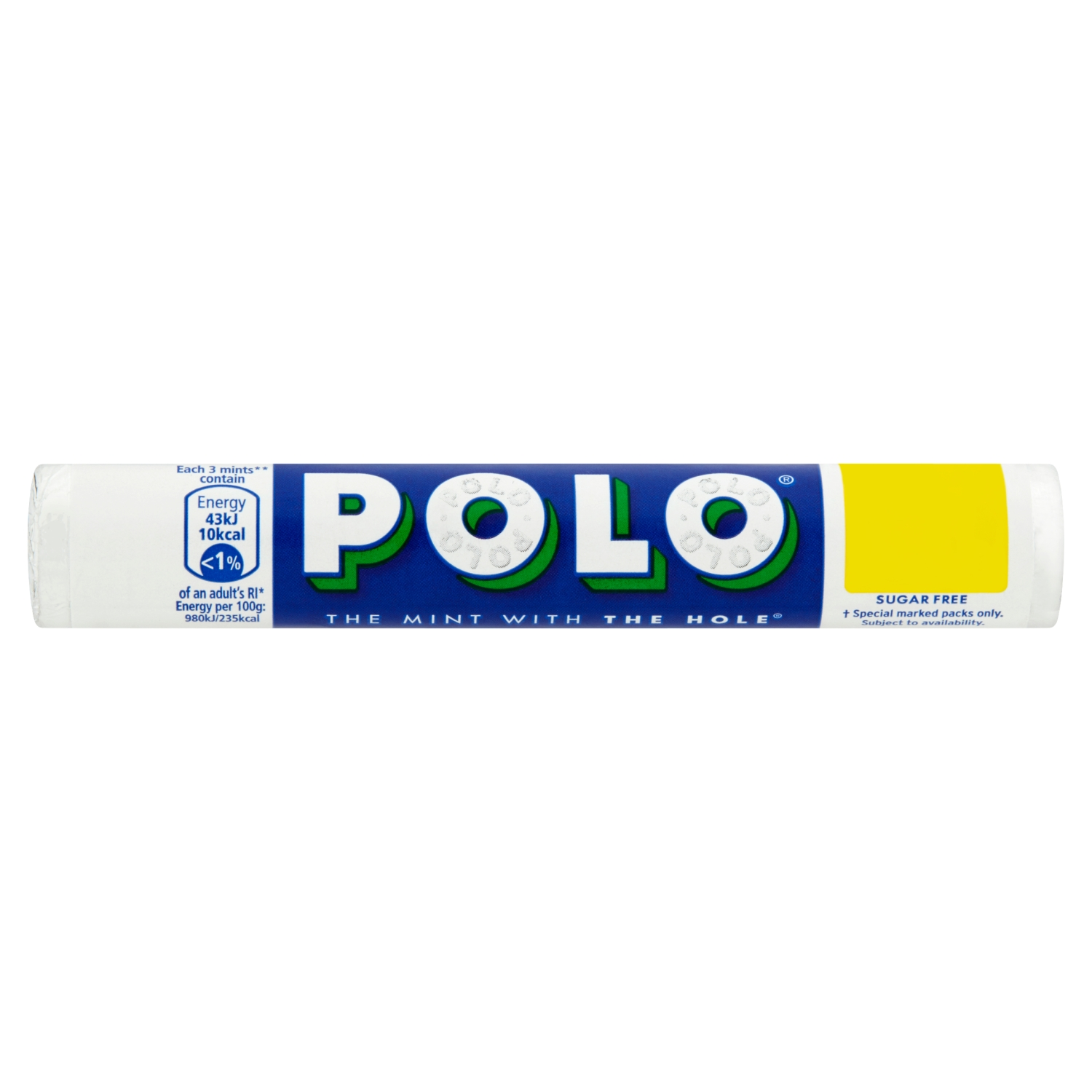 Polo Sugar Free Mint Tube 33.4g PMP 2 for £1