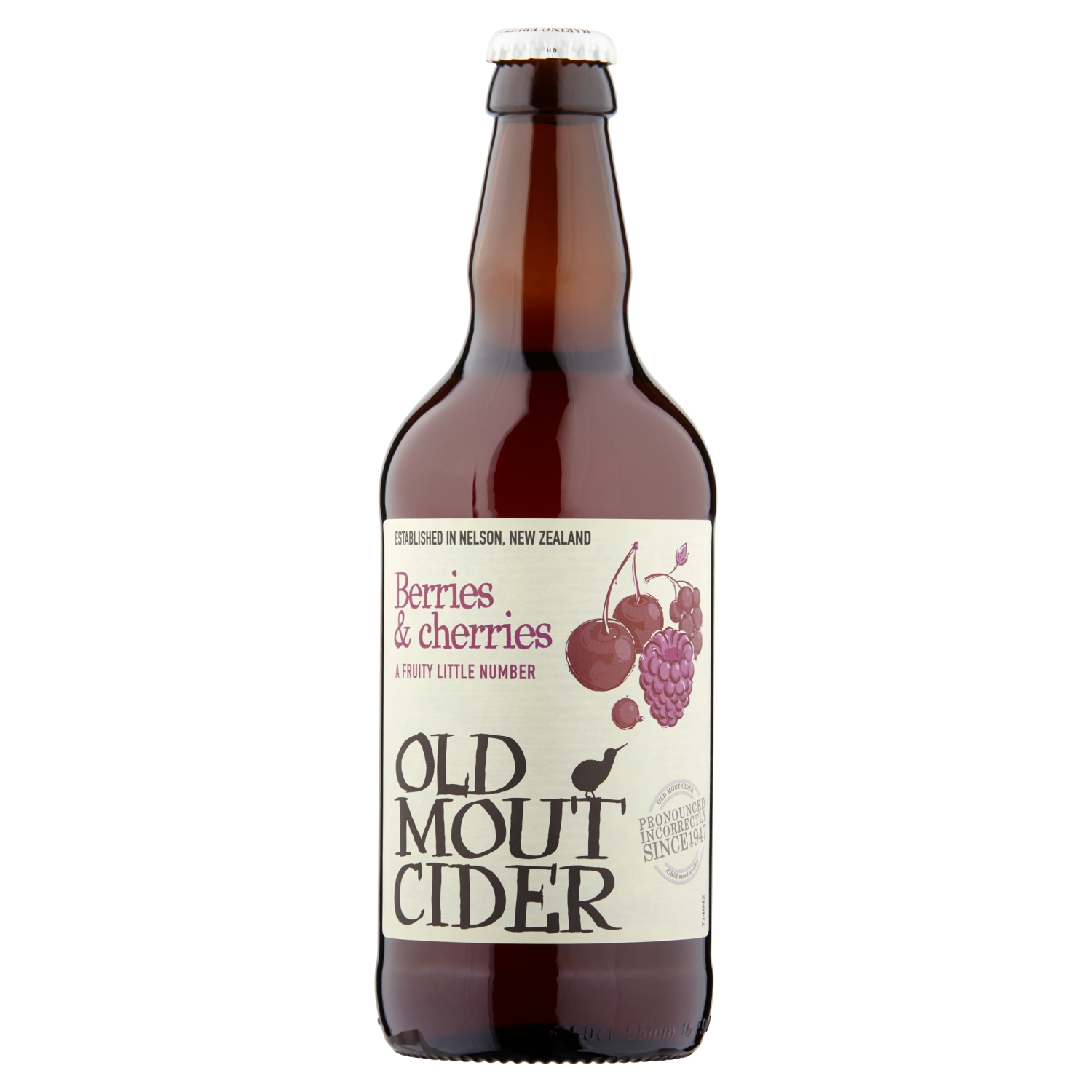 Old Mout Cider Berries & Cherries 500ml Bottle