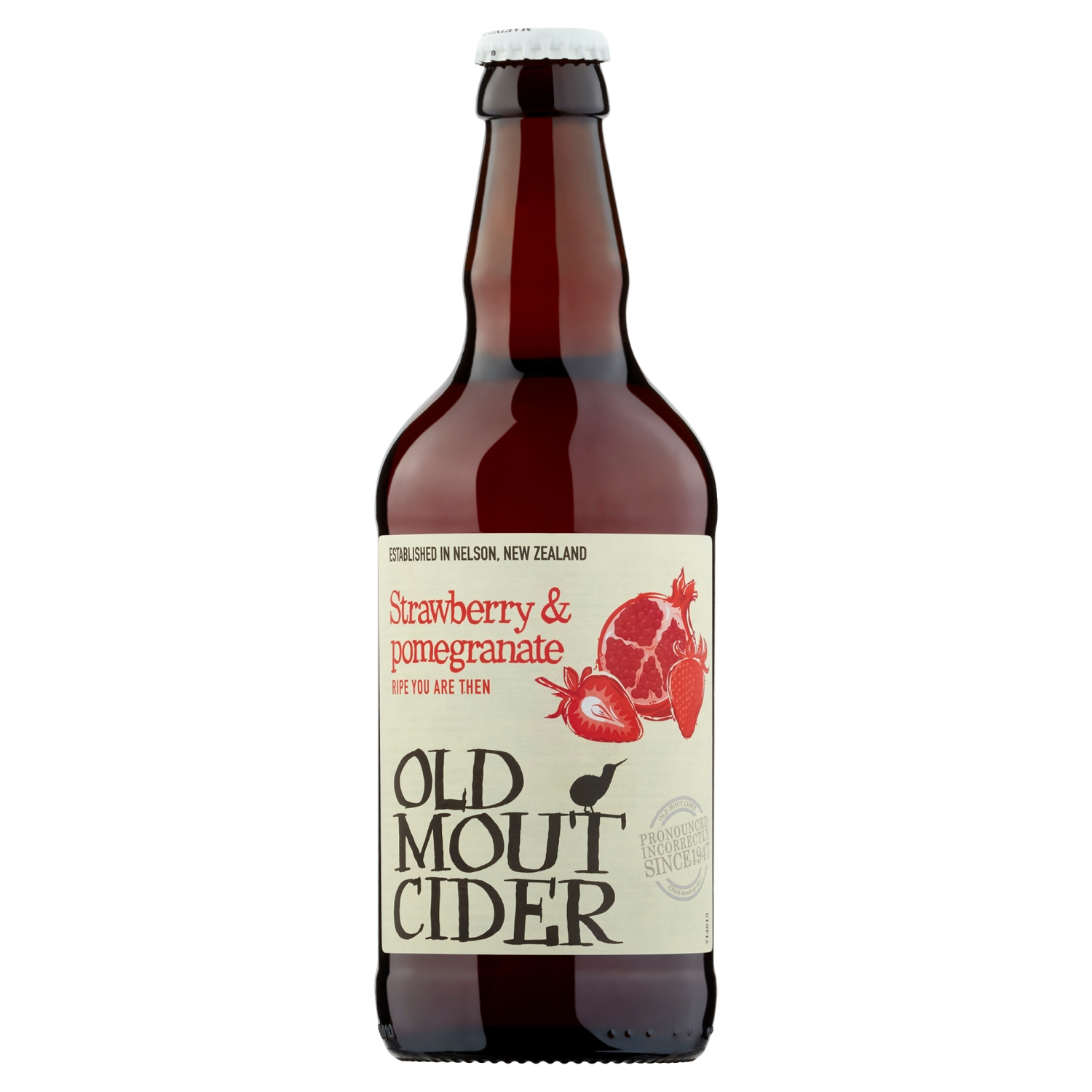 Old Mout Cider Strawberry & Pomegranate 500ml