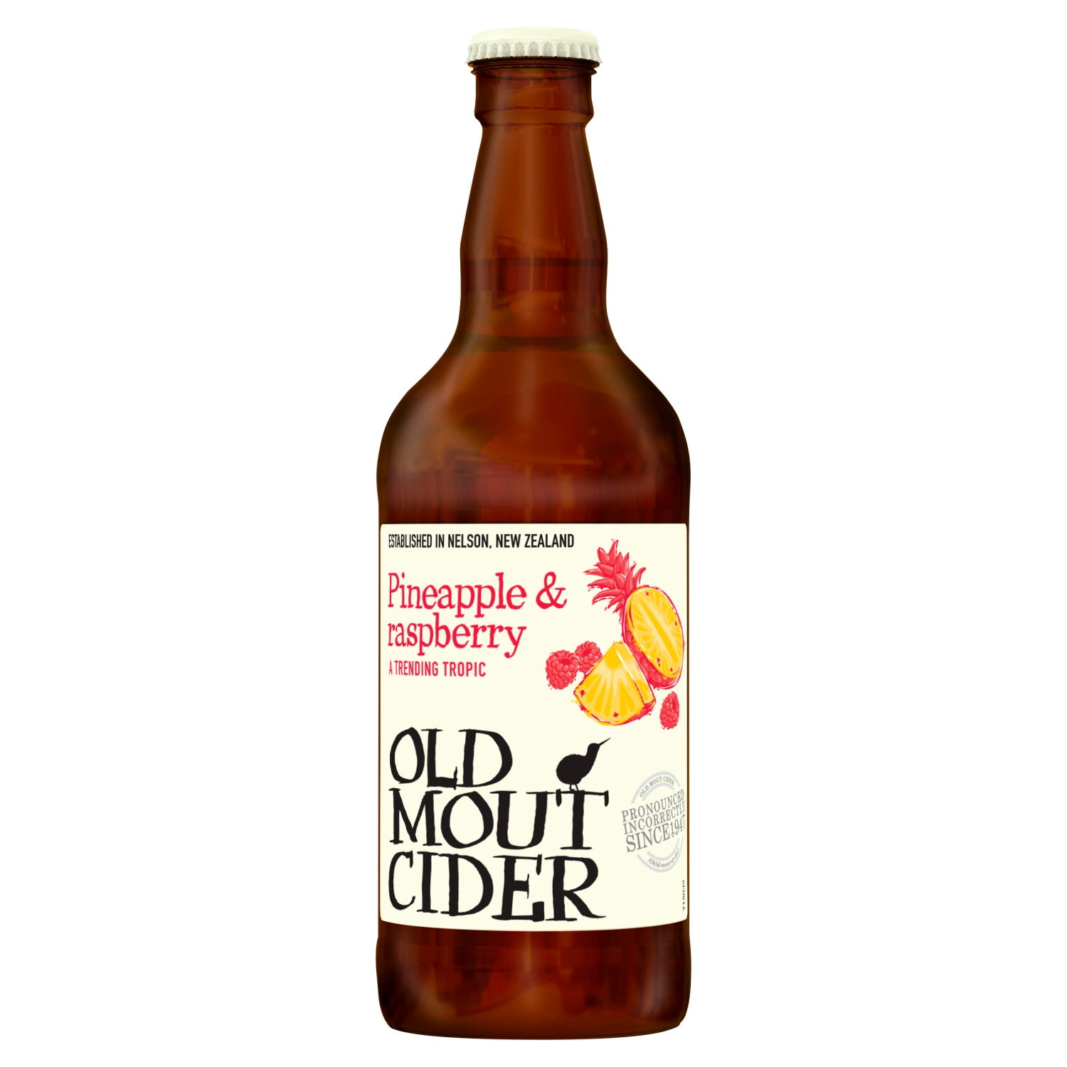 Old Mout Cider Pineapple & Raspberry 500ml Bottle