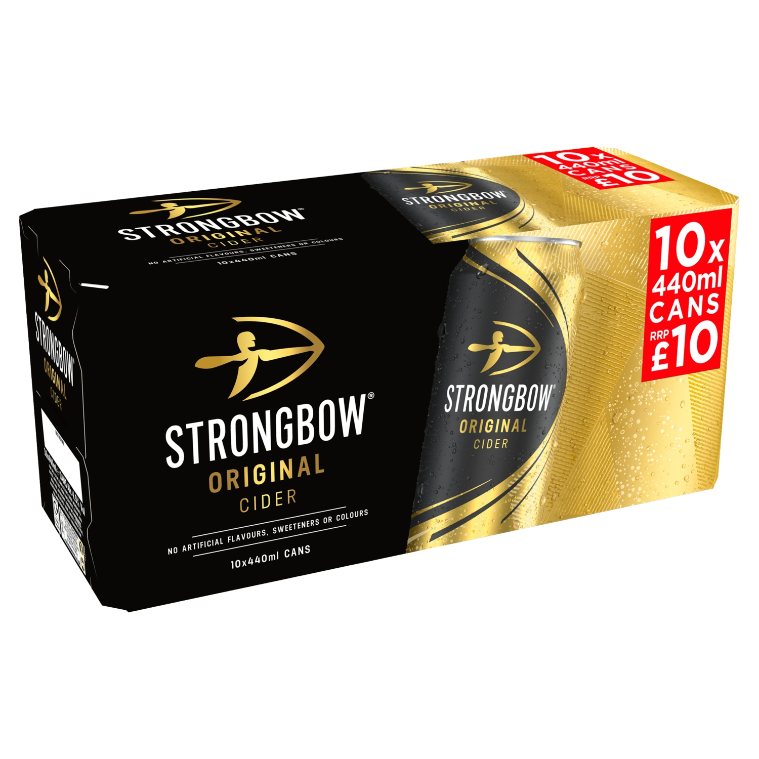 Strongbow Original Cider 10 x 440ml Cans