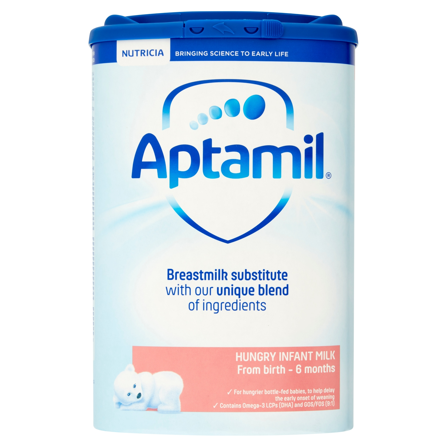 Aptamil Hungry Infant Milk from Birth - 6 Months 800g