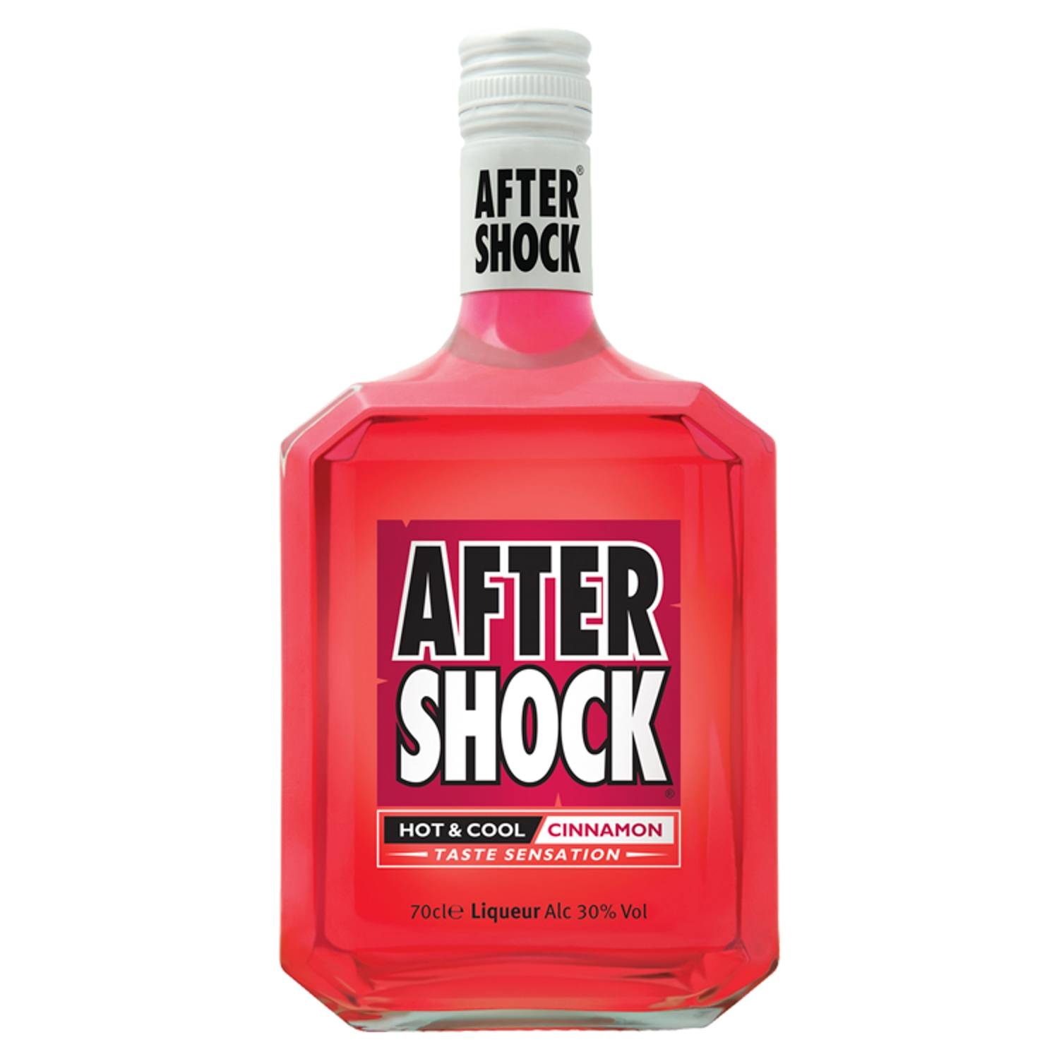 Aftershock Red Hot and Cool Cinnamon Liqueur, 70cl