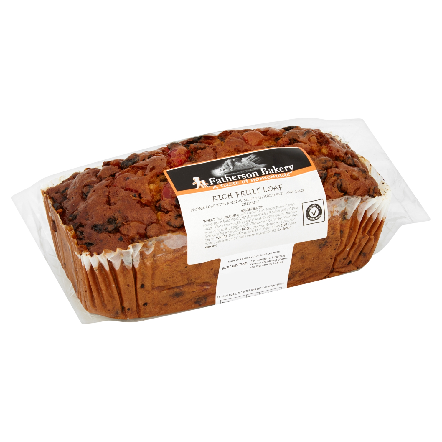 Fatherson Bakery Rich Fruit Loaf