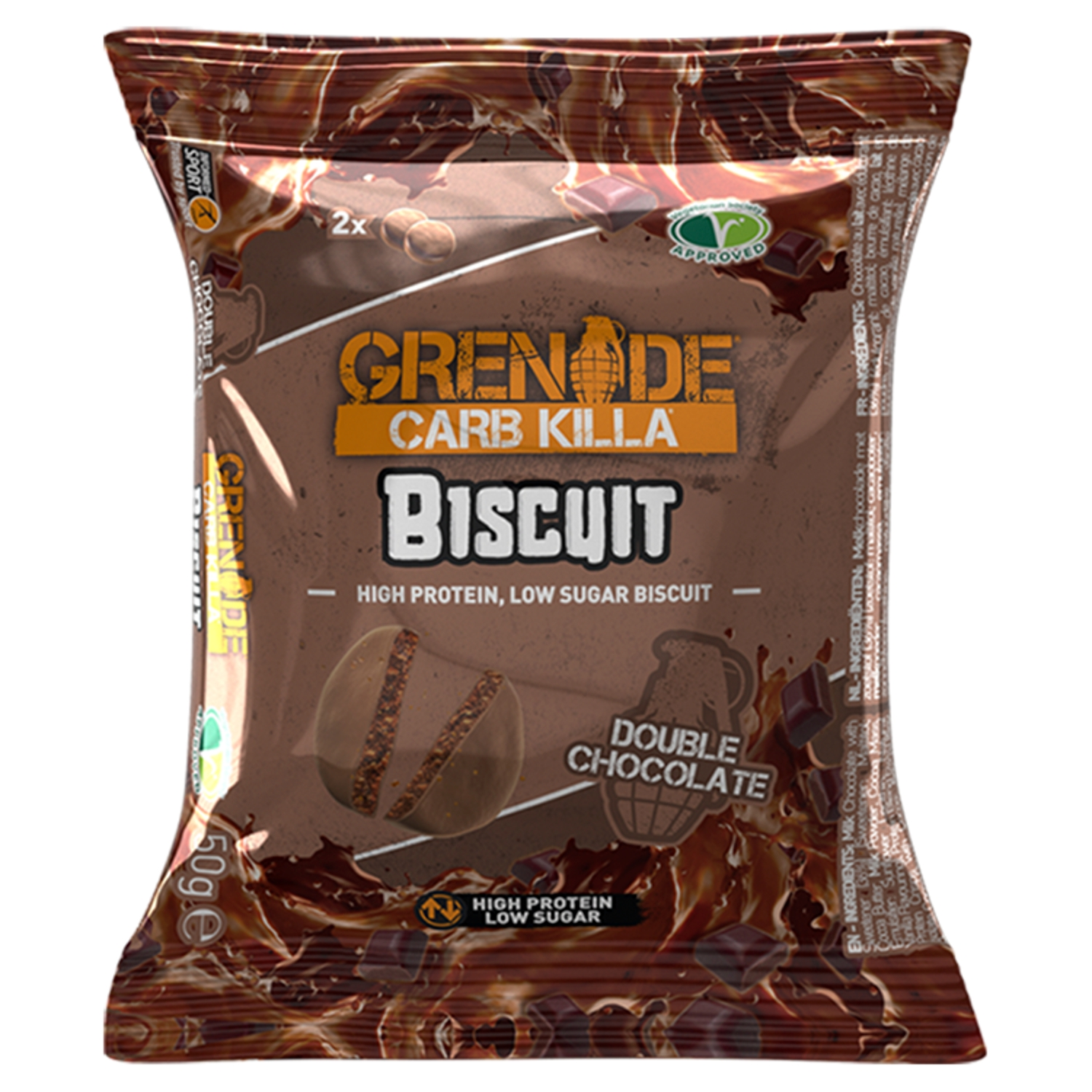 Grenade Carb Killa Biscuit Double Chocolate 50g