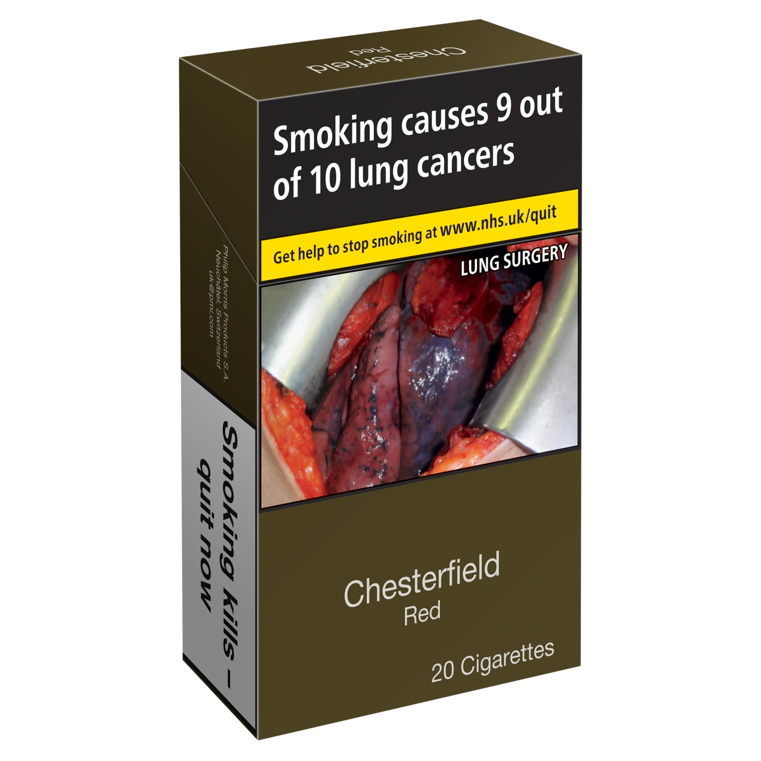 Chesterfield Red 20 Cigarettes