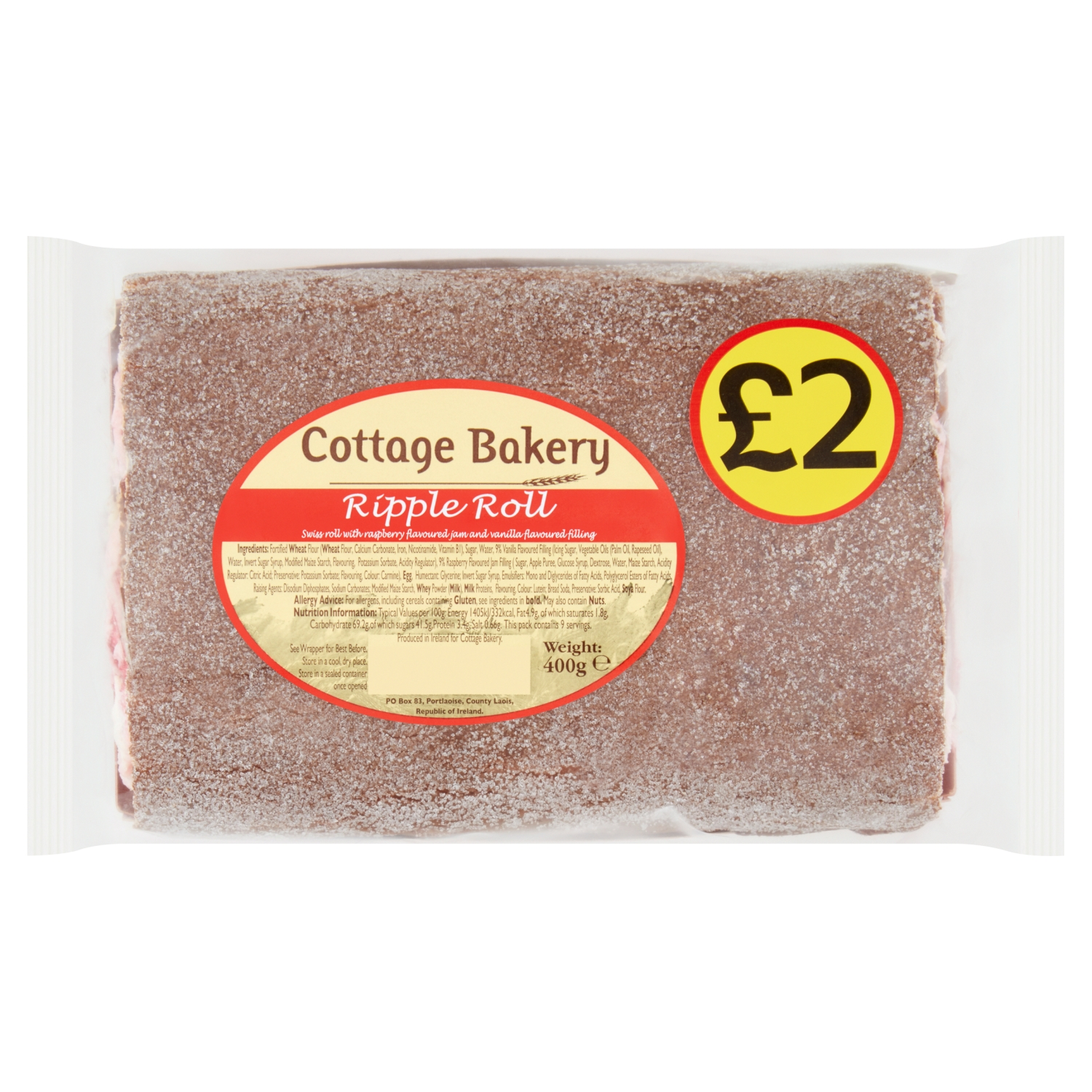 Cottage Bakery Ripple Roll 400g