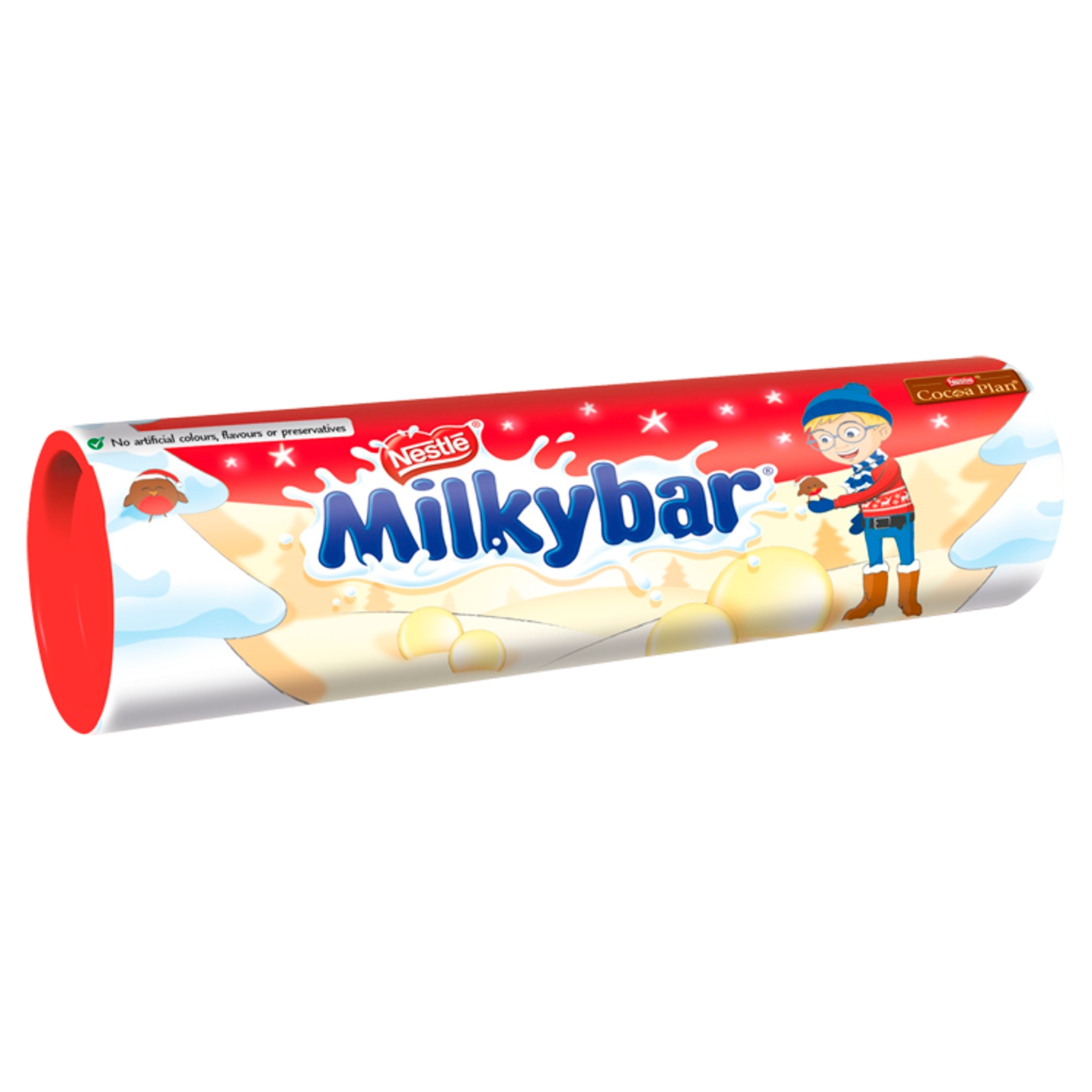 Milkybar White Chocolate Buttons Giant Tube 90g